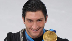 Evan Lysacek wins the gold, Johnny Weir gets robbed