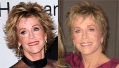 Jane Fonda admits to new round of plastic surgery
