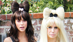 Jennifer Love Hewitt celebrates turning 31 by dressing up as Lady Gaga