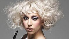 Lady Gaga shows off fake bulge on cover of Q Magazine