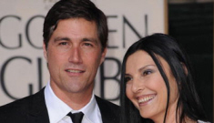 Is Matthew Fox cheating on his wife with a stripper?