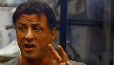 """Sylvester Stallone is so vein"" links"