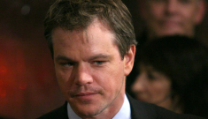 Matt Damon: Dirt-lip