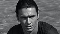 Does James Franco in a wet t-shirt make you hot?