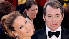 Sarah Jessica Parker & Matthew Broderick were barely speaking at Oscars