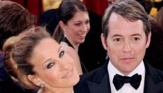 Sarah Jessica Parker & Matthew Broderick were barely speaking at Oscars
