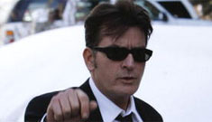 Charlie Sheen back to his old tricks: hires $2,500/night hooker