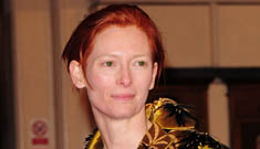 Tilda Swinton has an open relationship with the father of her twins