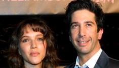 David Schwimmer, 43, & Zoe Buckman, 24, are engaged