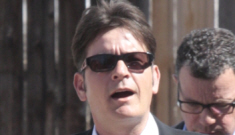 Charlie Sheen pleads not guilty on domestic violence charges