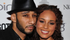 """Homewreckers"" Alicia Keys & Swizz Beats make their first public appearance"