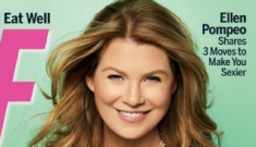 Ellen Pompeo went up one size while pregnant – from 25 to 26 waist