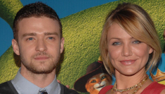 Justin Timberlake screws around on Jessica Biel with literally everyone