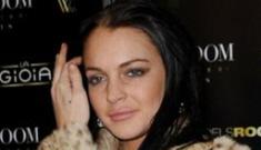 "Lindsay Lohan will design ""handbags"" for douchewear Ed Hardy"