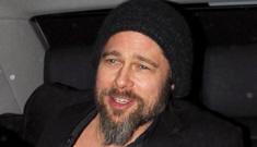 "Brad Pitt got high & said that he keeps his beard out of ""boredom"""