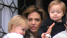 Angelina Jolie's latest balcony jaunt: Viv throws an epic tantrum