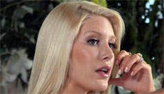 Heidi Montag moves out & leaves Spencer Pratt, acts the diva on Hills set