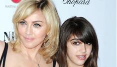 Should Madonna let 13-year-old Lourdes design a juniors' clothing line?