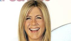 Jennifer Aniston's tight white sheath dress: her best look in months?