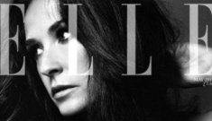 Demi Moore thinks she was the first working mother in Hollywood
