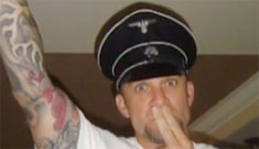 Jesse James' damage control continues: Nazi hat was gift from Jewish mentor