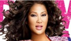Did Kimora Lee Simmons use her real body in a perfume ad?