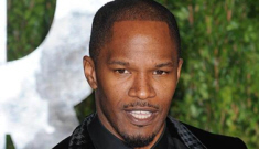Jamie Foxx: I'm not gay because I can eat pizza in the men's shower