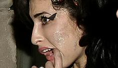 Amy Winehouse has mark on face; spokesman claims it's a skin infection