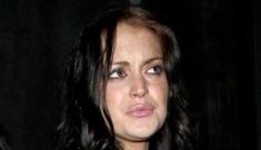 Lindsay Lohan, Mischa Barton & Eli Roth walk into a club…