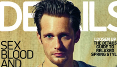 Alexander Skarsgard is delicious on the cover of Details