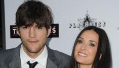 Demi Moore is jealous of Ashton's relationship with Kim Kardashian