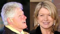 Love triangle: Bill, Hillary and…Martha Stewart?