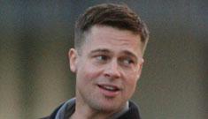 Brad Pitt's new crew cut