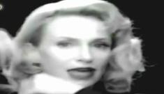 "Glee's Jane Lynch does Madonna's ""Vogue"""