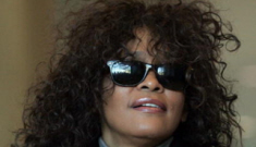 Whitney Houston parties with Bobby Brown: is she back on crack?
