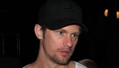 Alex Skarsgard in altercation with police at Coachella