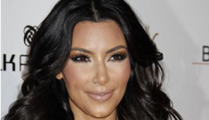 Kim Kardashian gets a new hookup, but did she get a facelift too?