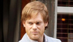 Michael C. Hall goes back to work, looking very healthy