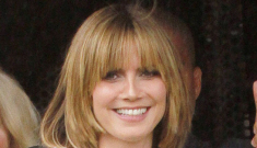 "Heidi Klum's new hair: the hair equivalent of ""mom jeans""?"