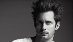 Alex Skarsgard pulls a Sparkles Pattinson in VMAN