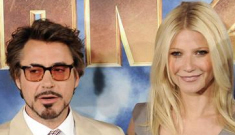 Robert Downey Jr, Gwyneth & ScarJo at 'Iron Man 2′ photo call