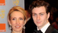 'Kick-Ass' star Aaron Johnson, 19, has pregnant 43-year-old fiancé