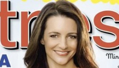 Did Kristin Davis lose weight, or was she Photoshopped to hell?