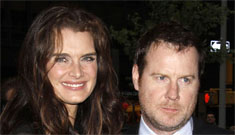 Brooke Shields says being a mom helps you eat less