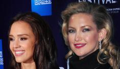 Kate Hudson & Jessica Alba's weird retro fashion: trashy or classy?