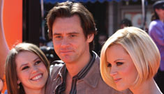 "Jim Carrey and Jenny McCarthy at the ""Horton Hears a Who"" Premiere"