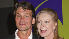 Patrick Swayze quits film he was working on to focus on his health