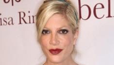 Tori Spelling has always been scary skinny, so says Candy Spelling