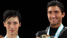Johnny Weir vs. Evan Lysacek: best catfight ever