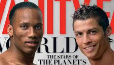 Vanity Fair spotlights hot soccer dudes for the June cover story